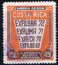 Costa Rica Stamp 50 - wysiwyg (CP2R801)
