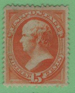 $US Sc#163 M/VF, RG, Crowe Cert., Cv. $650