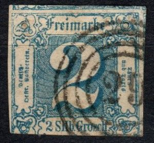 Thurn And Taxis #19 F-VF Used  CV $100.00  (X5183)