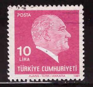 TURKEY Scott 2163 Used  stamp
