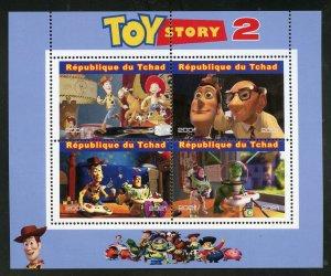 Chad 2021 'Toy Story 2' sheet mint nh