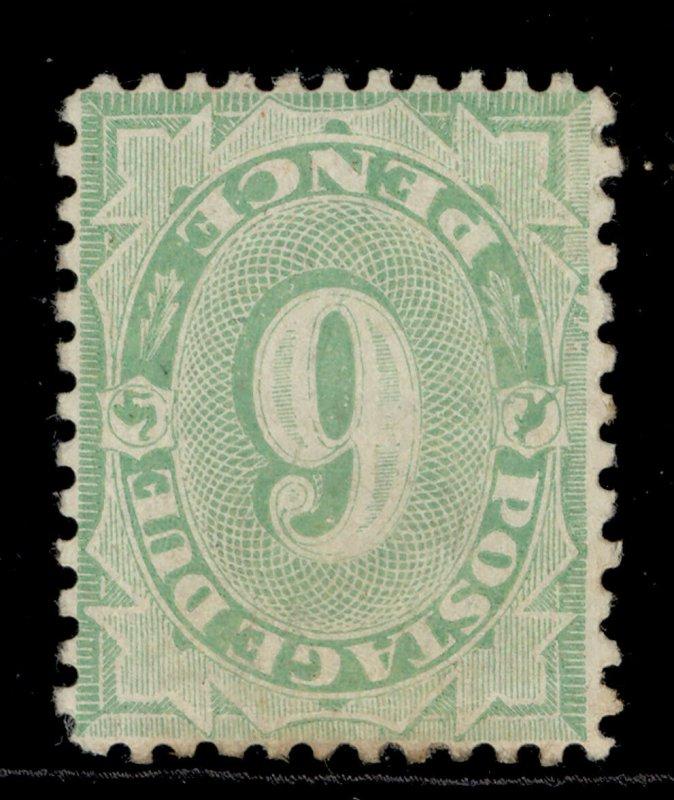 AUSTRALIA EDVII SG D50w, 6d green, M MINT. Cat £300. WMK INV
