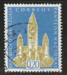 Venezuela  Scott 759 used 1960 stamp