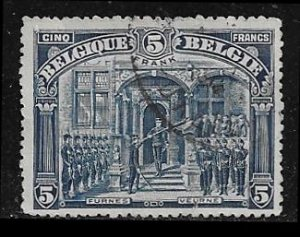 Belgium 121 used 2018 SCV $125.00  - has approx 5/8 repaired tear  - 1315513126