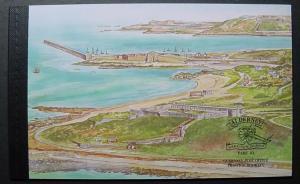 Alderney, Scott 141d, complete booklet
