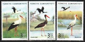 Turkey. 2020. 4597-99. Birds, fauna. MNH.