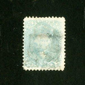 US Stamps # 70b F-VF Light block used Scott Value $850.00