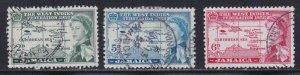 Jamaica # 175-177, West Indies Federation, Used, 1/2 Cat.