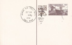 US CANAL ZONE STAMP COVER, LETTER, PC, COLLECTION LOT #S7