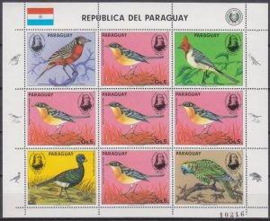 1985 Paraguay 3869KL Audubon 12,00 €