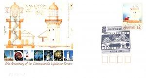 Australia, Postal Stationary, Lighthouses, Bridges