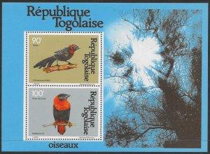 Togo #C447a YTBF150 MNH S/S CV$8 Birds