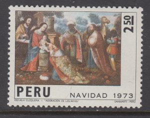 Peru 612 MNH VF