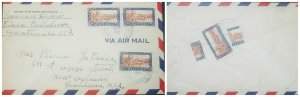 O) 1951 GUATEMALA, BISECT, SUGAR CANE FIELD SC 333 - AGRICULTURAL, AIRMAIL TO US