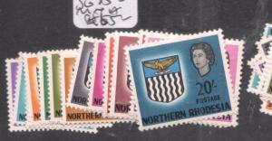 Northern Rhodesia SG 75-88 MNH (9dlr)