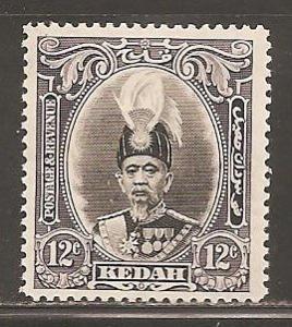 Malaya Kedah SC   47  Mint Lightly Hinged