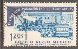 MEXICO C279, 11th Panamerican Railroad Congress. Used. F-VF. (1158)