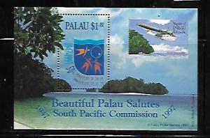 PALAU, 413, MNH, SS, SOUTH PACIFIC COMMISSION