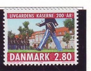 Denmark Sc 792 1986 Changing of the Guard stamp mint NH