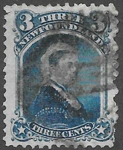 Newfoundland Scott Number 34 F Used