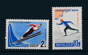 [75212] Russia USSR 1962 Wintersport Ski jumping Cross Country  MNH