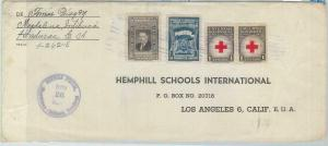 79031 - HONDURAS - POSTAL HISTORY - COVER from MAGDALENA - INTIBUCA   RED CROSS