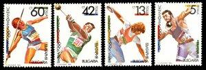Bulgaria Scott 3565-3568 Mint never hinged.