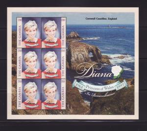 Gambia 2057 Sheet Set MNH Princess Diana
