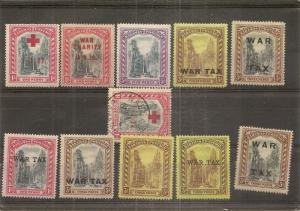 Bahamas 1917-19 War Tax Staircase Issues