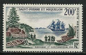 Saint Pierre and Miquelon # C27 Mint Never Hinge