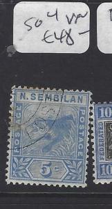 MALAYA NEGRI SEMBILAN  (PP2612B)   TIGER  5C  SG 4   VFU