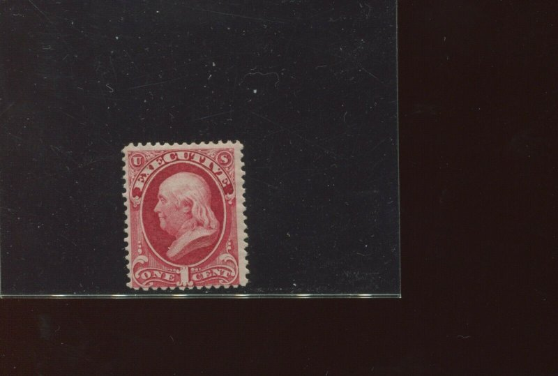 Scott O10 Executive Official Mint Stamp with Weiss Cert (Stock O10-2)