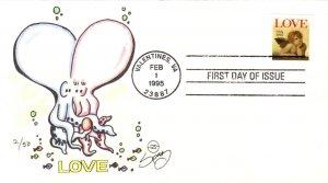 #2949 Love - Cherub Wilson FDC
