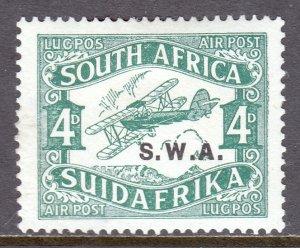 South West Africa - Scott #C1 - MH - Thinning, hinge bump - SCV $10
