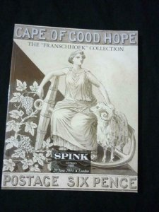 SPINK AUCTION CATALOGUE 2012 CAPE OF GOOD HOPE 'FRANSCHHOEK' COLLECTION