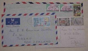 NIGERIA   COVERS DESTINATIONS HUNGARY 1992.SWISS 1954,NEW ZEALAND 1969