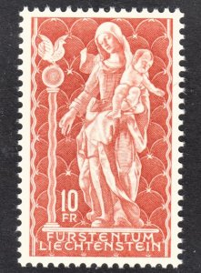 Liechtenstein Scott 395 VF mint OG NH.