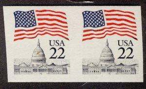 US #2115f IMPERF, SUPER JUMBO mint never hinged, very large margins,  SUPER N...