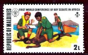 Maldive; 1973: Sc. # 428: */MH Single Stamp