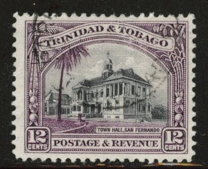 Trinidad & Tobago Scott 39 Used perf 12 stamp