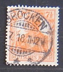 Reich, Germany, 1916-1918, MC #99, (2244-T)