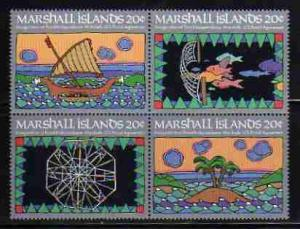 Marshall Islands MNH Block 34a Marine Life