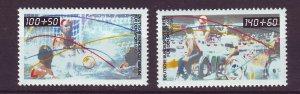 J24380 JLstamps 1990 germany berlin set mnh #9nb277-8 sports