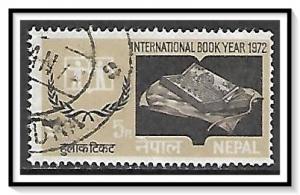 Nepal #259 International Book Year Used