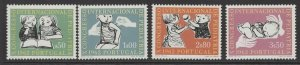PORTUGAL SG1209/12 1962 10th INTERNATIONAL PAEDIATRICS CONGRESS MNH