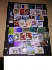 Presenting 50 Stamps from the Emerald Island of Ireland