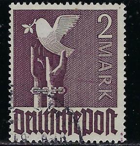 Germany AM Post Scott # 575, used