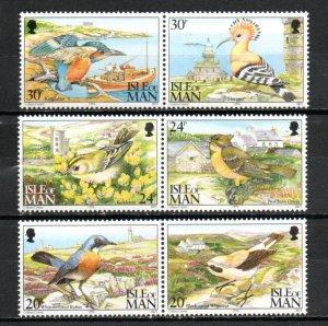 Isle of Man 587-592 MNH