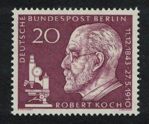 Berlin 50th Death Anniversary of Robert Koch bacteriologist 1v SG#B186
