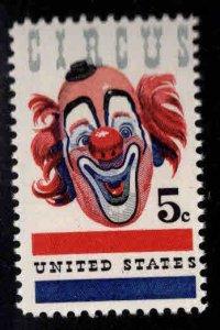 USA Scott 1309 Circus Clown stamp MNH**